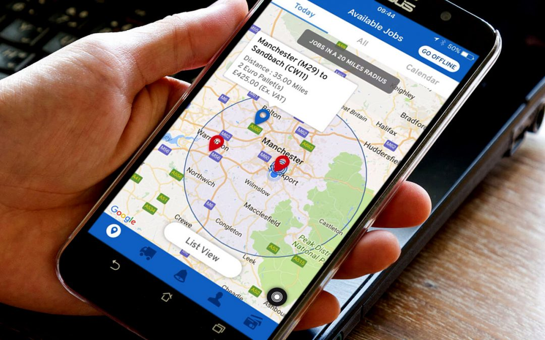 PRESS RELEASE: New environmentally friendly app set to revolutionise the delivery process for drivers and customers